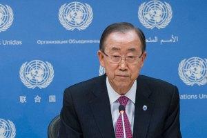 Secretary-General Ban Ki-moon. (UN photo)