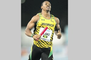 World champion Yohan Blake to test where he is at the UWI Invitational Meet.