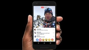 Facebook announced on Tuesday that it is giving more prominence to live video streams