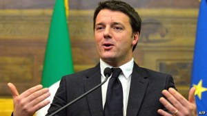 Italian Prime Minister, Matteo Renzi