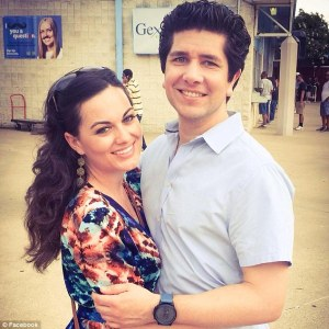 Hatcher and Ricardo Paniagua had been dating for a few months and recently returned from a romantic trip to California (Daily Mail Photo)