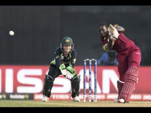 File; West Indies Women's captain Stafanie Taylor in action against Australia during the final of the ICC Women's World Twenty20 cricket tournament at Eden Gardens in Kolkata, India, on April 3.