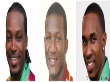 ST JOHN'S - Chris Gayle, Darren Sammy and Dwayne Bravo were all left out of the West Indies squad for the first four tri-nation one-day international series while T20 matchwinner Carlos Brathwaite has been included. Offspinner Sunil Narine and allrounder Kieron Pollard, who have not played international cricket since November 2015, were included in the 14-man squad for the series against Australia and South Africa starting from June 3.