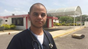 Dr Torres says he sometimes pays for medical supplies himself