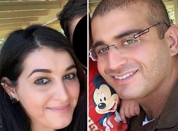 Noor Salman and Omar Mateen