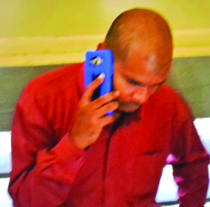 Abel Seetaram at the Blairmont Magistrate's Court on Tuesday