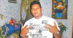 Shot dead: Miguel Alehandro Brito