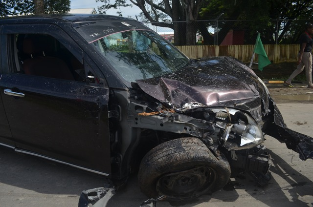 The car which was involved in the accident