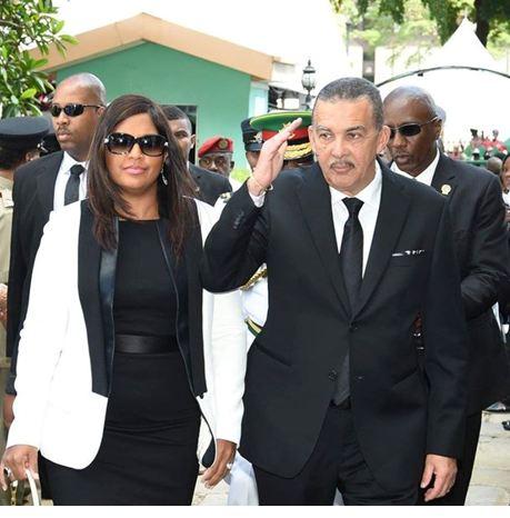 President Anthony Carmona and Mrs Reema Carmona