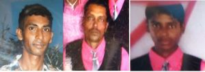 Pawan Chandradeo of Lot 163 Mibicuri Black Bush Polder; his son Jaikarran and his brother-in-law Rooplall, of Number 73 Village, Corentyne are expected to be laid to rest on Wednesday