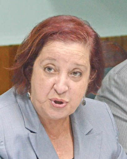 PPP/C Chief Whip, Gail Teixeira