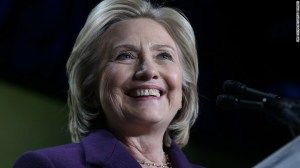 'BREAKING THE GLASS CEILING' - Hillary Clinton