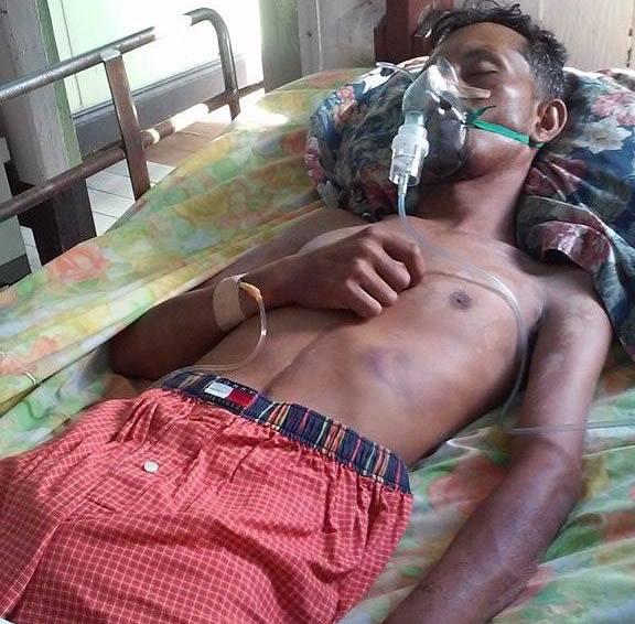 "Yogeshwar Shivcharran, a.k.a ""Shah Rukh Khan""  in hospital"