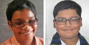 TOP STUDENTS: Aryan Singh and Anthony Ferreira