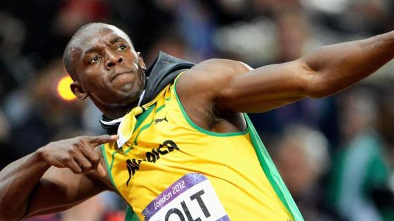 Jamaica's sprint king Usain Bolt