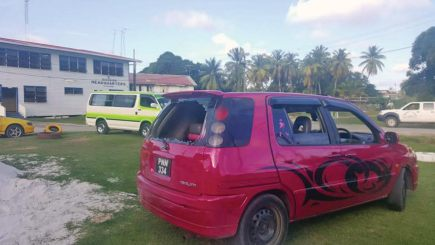 The vehicle the bandits used in the robbery