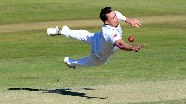 PRETORIA, SOUTH AFRICA - AUGUST 30: Dale Steyn of the Proteas during day 4 of the 2nd Sunfoil International Test match between South Africa and New Zealand at SuperSport Park on August 30, 2016 in Pretoria, South Africa. (Photo by Lee Warren/Gallo Images)