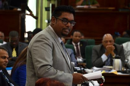 Opposition Member of Parliament, Irfaan Ali