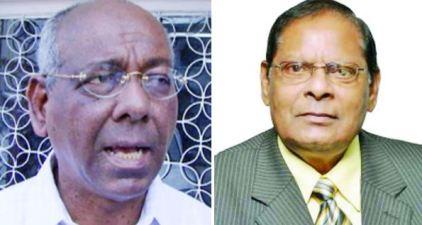 Ralph Ramkarran and Moses Nagamootoo