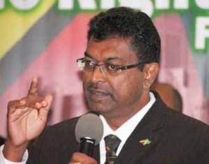 Public Security Minister Khemraj Ramjattan