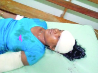 Wanita Herralall was brutally chopped by her estranged husband in an apparent execution attempt