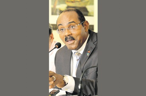 Prime Minister of Antigua and Barbuda Gaston Browne