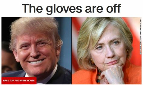 FACE OFF: Donald Trump and Hillary Clinton