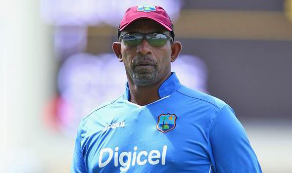 West Indies coach, Phil Simmons