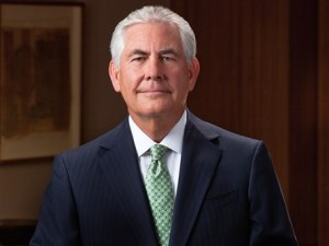 ExxonMobil's Chief Executive Officer (CEO) Rex Tillerson