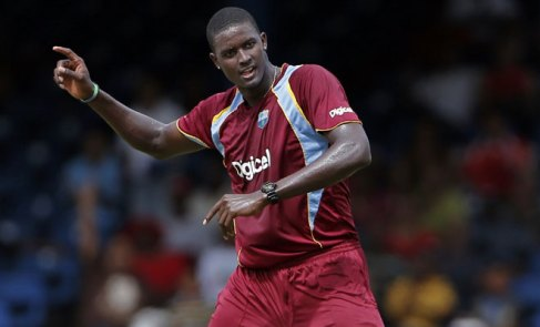 West Indies captain Jason Holder