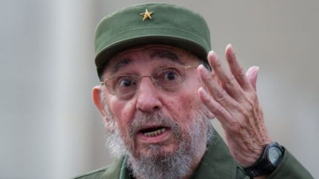 Fidel Castro led the Communist revolution in Cuba in 1959 (AFP/Getty Images)