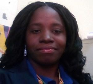 Lethem Town Clerk Keisha Vincent