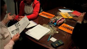 As of this weekend, thousands of Spanish parents will tell their children not to do their homework (Reuters photo)