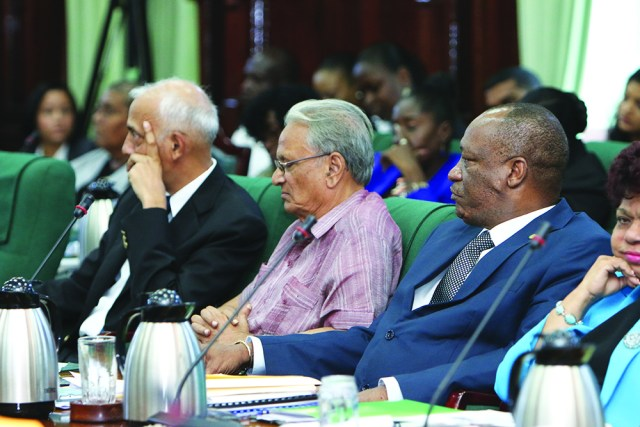 Education Minister Dr Rupert Roopnaraine