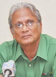 Education Minister Dr Rupert Roopnarine