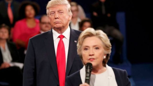 The presidential campaign was marked by some fierce debates between the two candidates (Reuters)