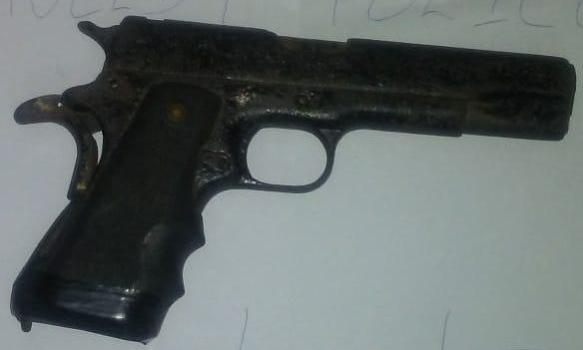 Laing Avenue man found with illegal 9MM pistol | INews Guyana