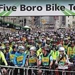 Cinque quartieri, 40 miglia, in bicicletta...a New York