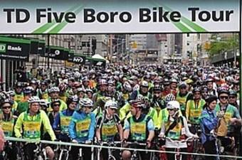 Cinque quartieri, 40 miglia, in bicicletta…a New York