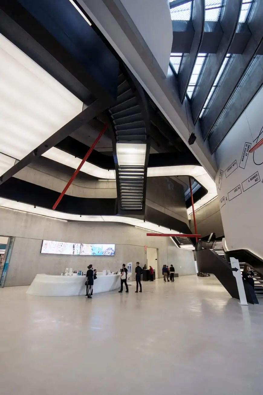 Zaha Hadid  The MAXXI Museum Rome  part 2