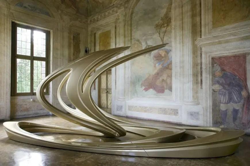 Lomaggio della Milano Design Week 2017 a Zaha Hadid