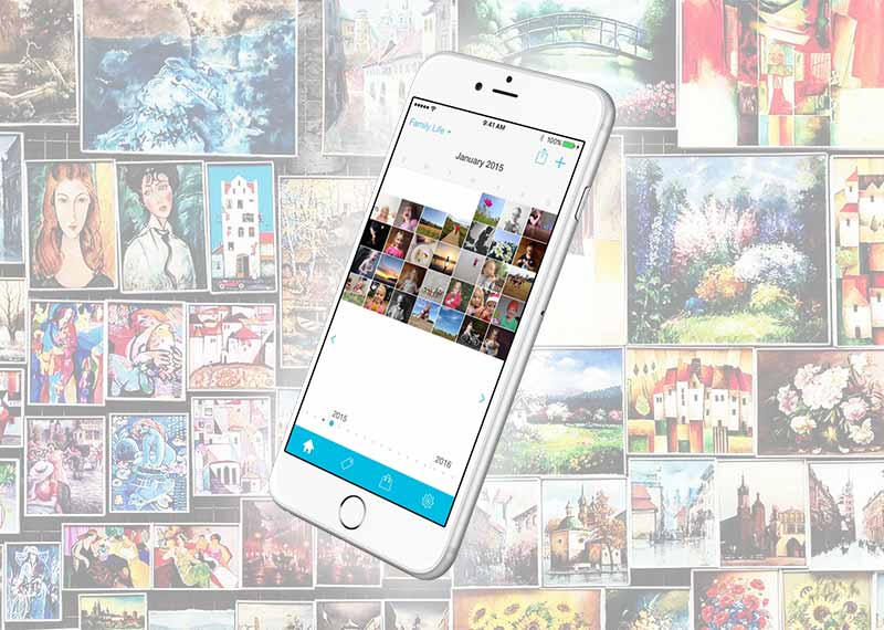 Collect: Photo a Day | iPhone application | Case Study | Inexika
