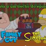 Assista ao trailer do episódio Family Guy e Simpsons crossover!