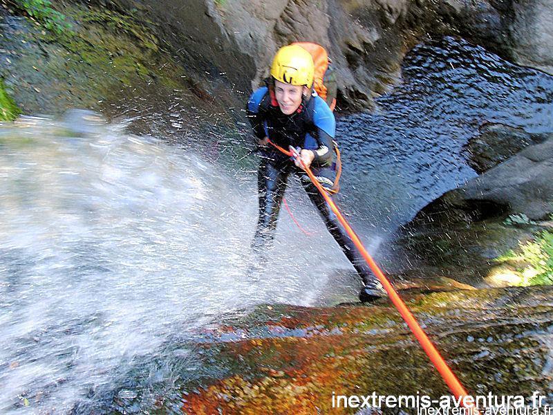 Canyoning salt maria valenta - Arles sur Tech - Pyrénées Orientales