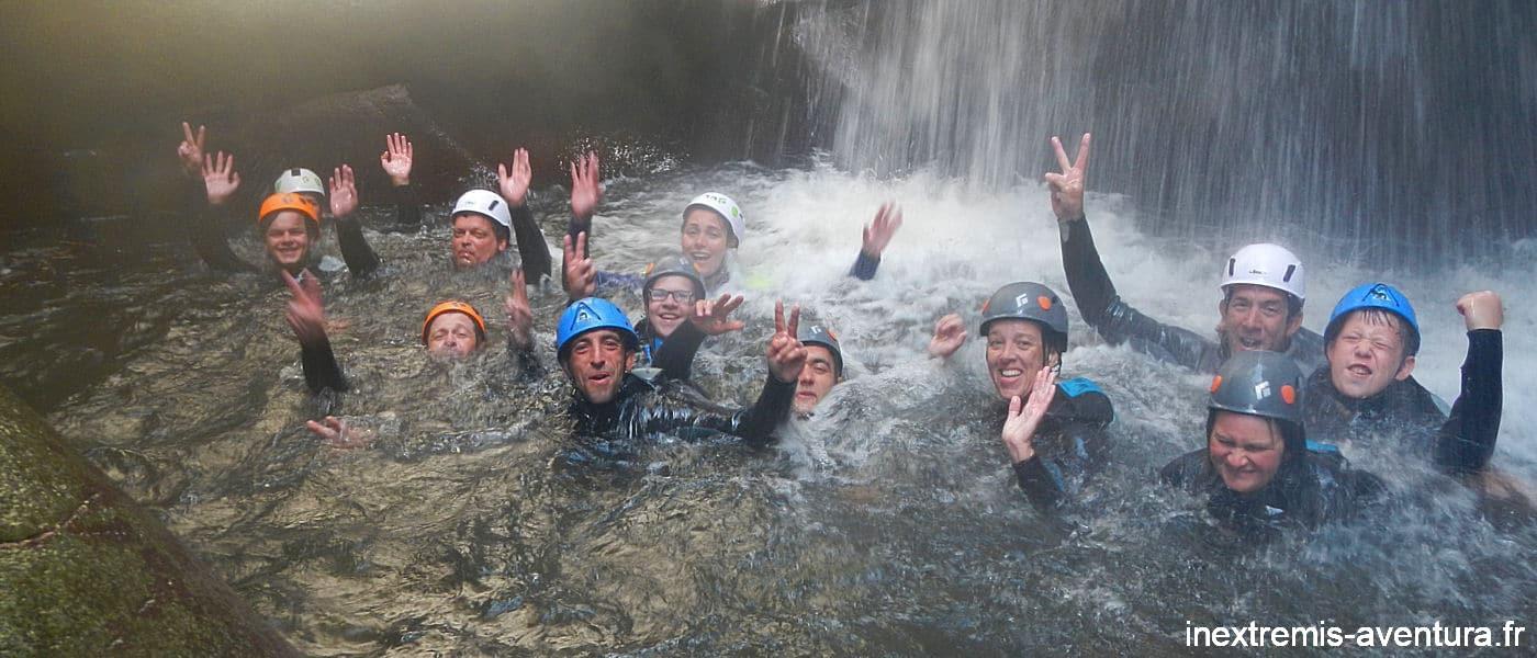 Canyoning au Molitg - Gorges de la Castellane - Pyrénées Orientales