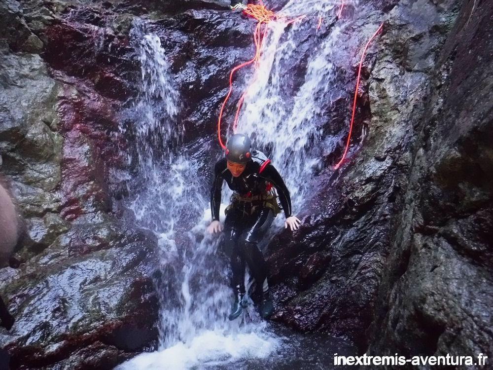 Canyon Eau chaude de Thues les Bains
