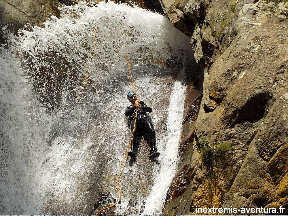 Canyoning Gourg des Anelles (Rappel Toboggan)