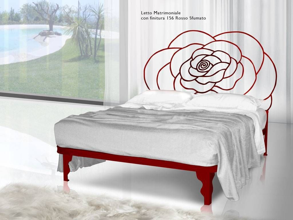 Wroughtiron bed Linneo