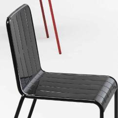 Chair And Steel Best Barber Chairs Armchair In Sheet Metal Stripes