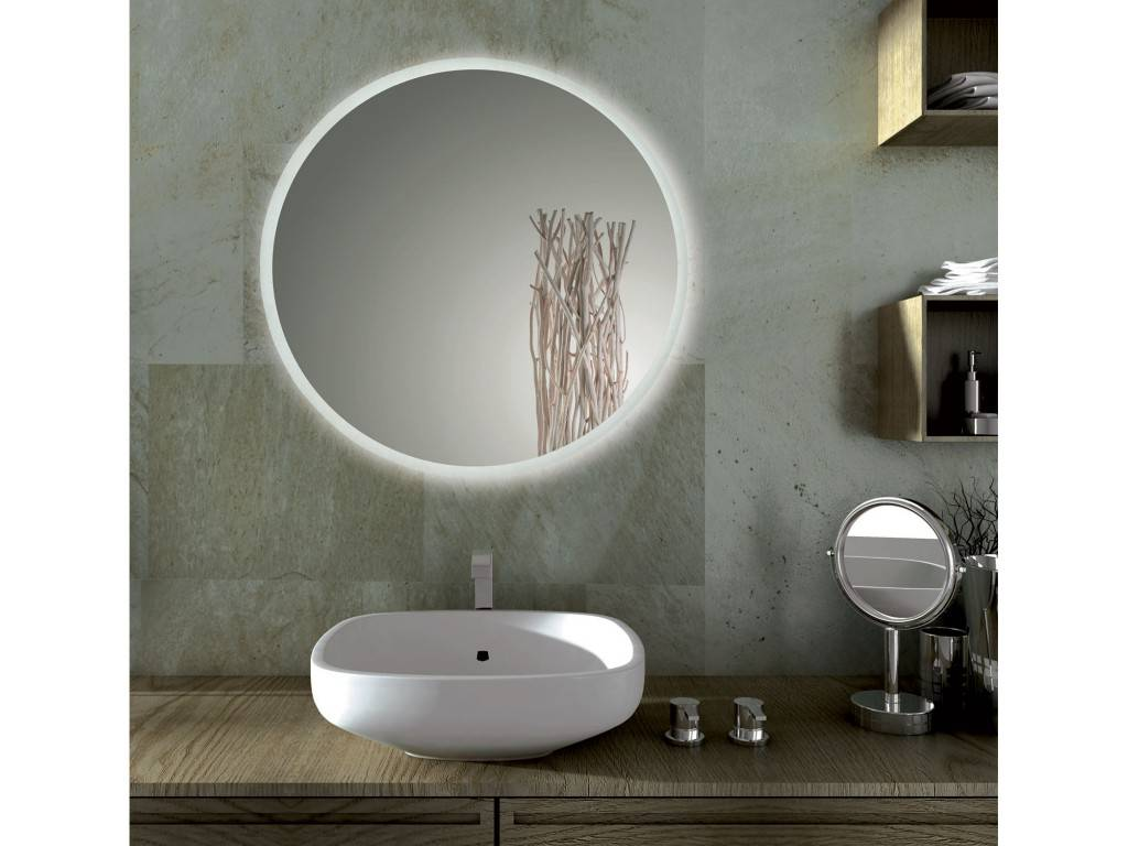 circle glass table and chairs chair covers for the classroom sole round bathroom mirror with led